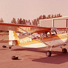 Aerobatic Citabria on which Clay learned how to fly in Prattville, Alabama, in 1977.