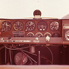 Instrument panel of Citabria on which Clay learned how to fly in Prattville, Alabama, in 1977. It was fun, but we also thought we'd be flying over Brazilian jungles, and we wanted to know how--just in case!