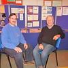 Richard G8ITB (L) and Colin (Rowley Shears Nephew)