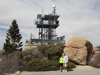Easter 2012 Hike to Keller Peak Firetower, Running Springs CA