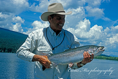 """I hooked and landed ten fish from 23"""" to 28'' this day. I haven't done it again. Correction, I did better on 8/19/10."""