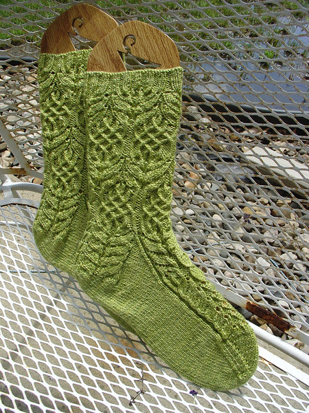 Sockapalooza Socks finished August 2007