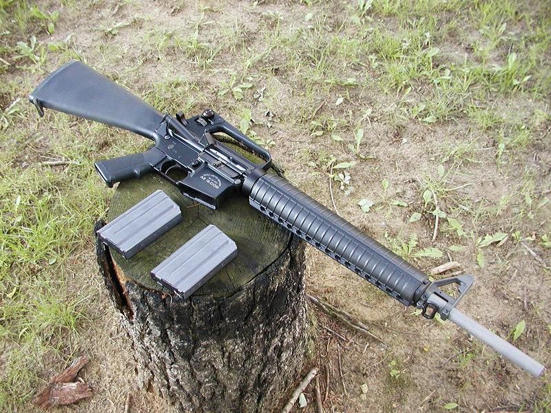 AR15 with special edition AR15.com receiver