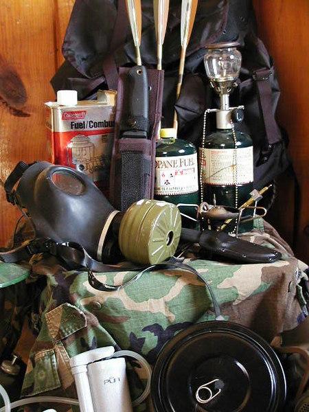 """""""Survival"""" equipment"""