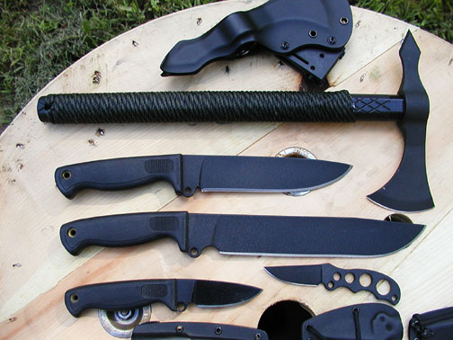 American Tomahawk with Busse Knives