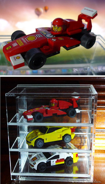 Shell Ferrari Lego Display