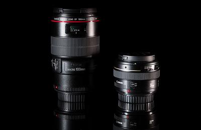 Lens in Black