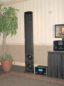 The McIntosh XRT1K line array. www.mcintoshlabs.com