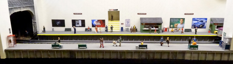 Lionel O-Scale Subway Station