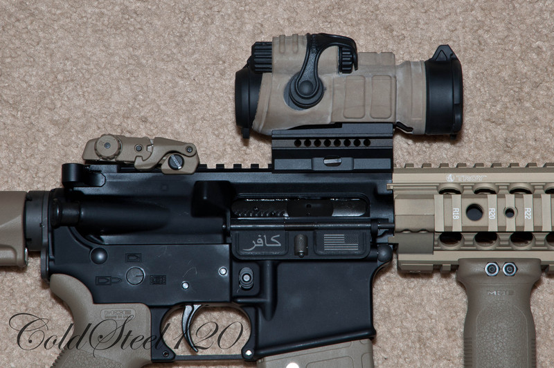 Aimpoint Patrol Rifle Optics (PRO) with Coyote Brown cover