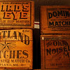 Old Match Crates
