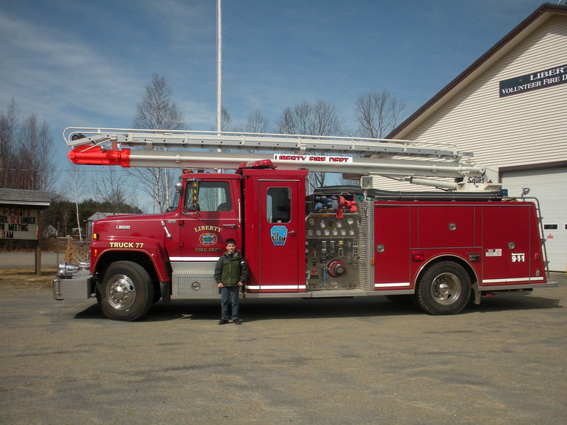 Liberty Me Truck 77 and Zac Florin