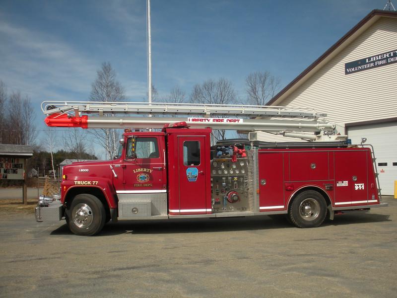 Liberty Maine Truck 77