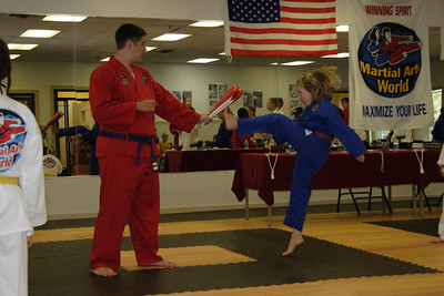 Martial Arts World Belt Testing July 2006