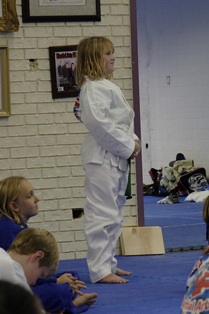 Martial Arts World Belt Testing August 2005