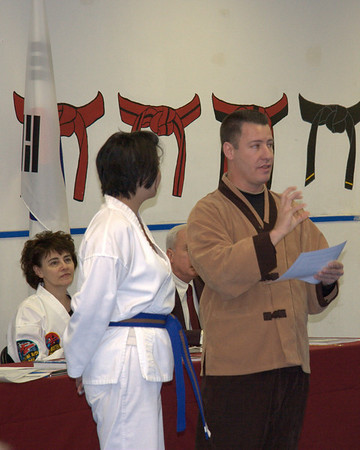 Martial Arts World Belt Testing February 11, 2006