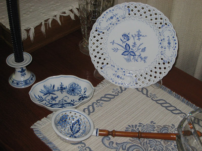 Handpainted Meissen Plate by and from Karin Ristock, July 20, 2010