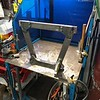 Gary Gray, a great fabricator and fellow RMVR racer, is in charge of the re-building project.   First build the rear bulkhead.