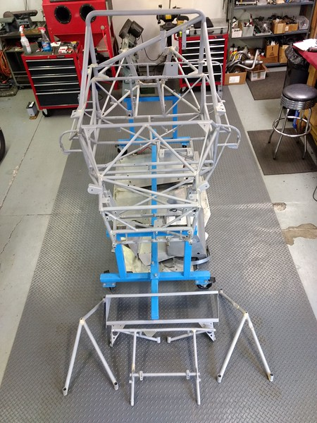 All clean, all frame bits back from being blasted to bare metal.