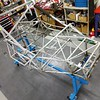 Another view of the bare frame.