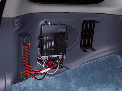 HF/VHF/UHF mobile install