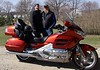 Terry & Julie......and the new gold wing