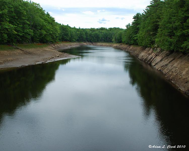 Big Dam Reservoir in Marlborough