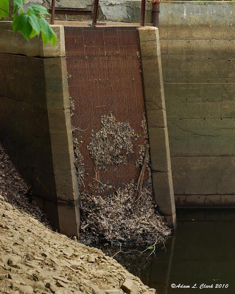 Water intake for Marloborough powerhouse down stream from Big Dam
