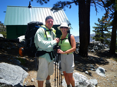 Mt Baldy Training Hike for Whitney Mountaineer Route June 12, 2011