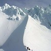 "Photo by ""Noah(Oregon)"", courtesy of the summitpost.org website, taken March 2004. Awesome snow and rime ice formation on the rocks!"