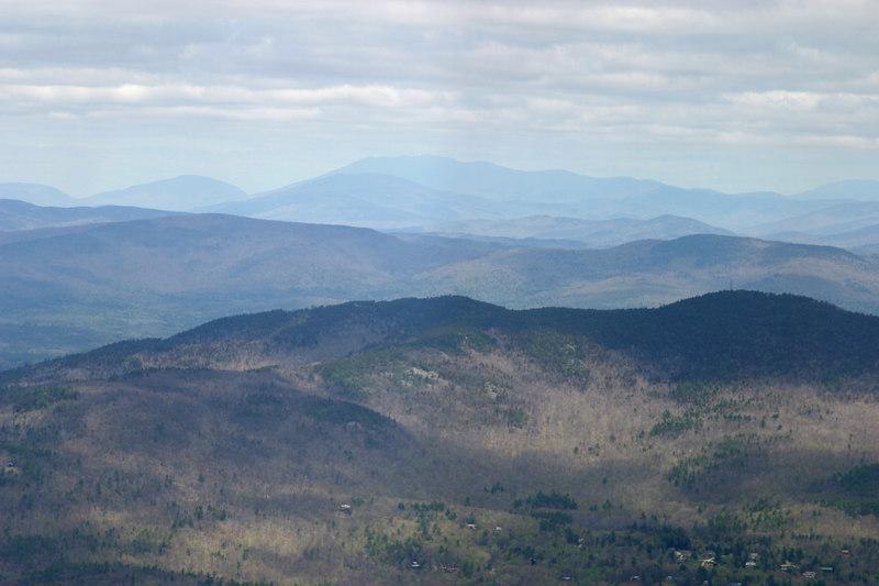 Looking towards The White Mountains