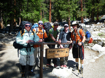**Mt Whitney CA** Highpoint Climb via Mountaineer Route, July 15-18, 2011