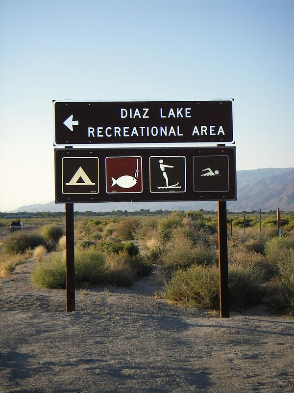 I have seen this sign many, many times traveling up to Lone Pine and Bishop CA............I wanted to immortalize this shot for my co-worker Steve Diaz.