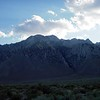 Southern Sierra landscape in June 2005, south of Lone Pine CA.