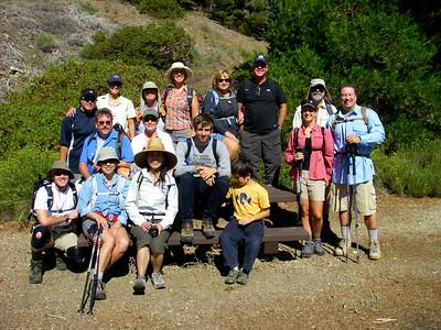 Mt Williamson Group Hike, Big Pines CA August 23, 2009
