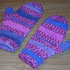 Mitts I knit for myself.  :)