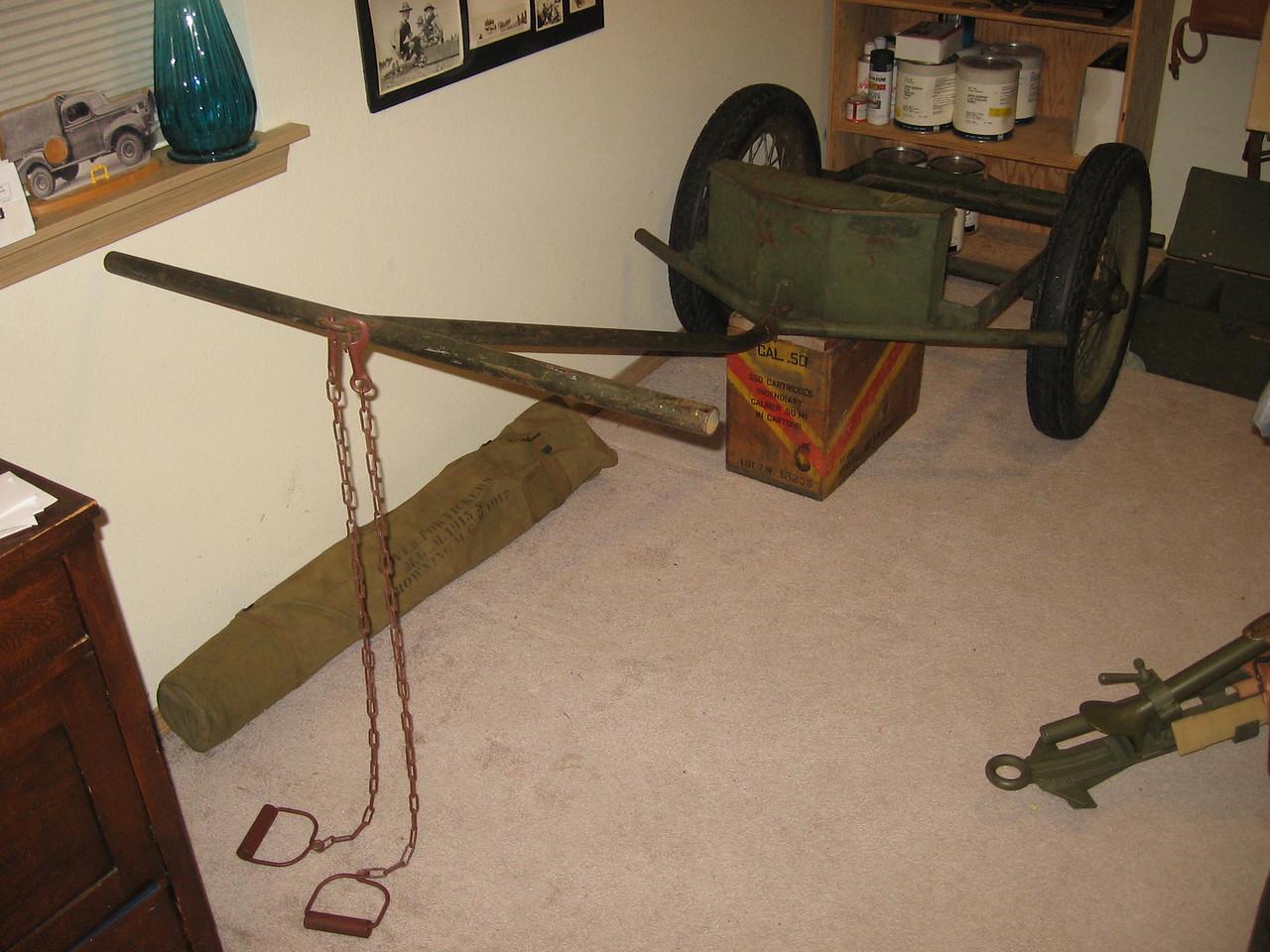 M1A1 Chemical Mortar Cart