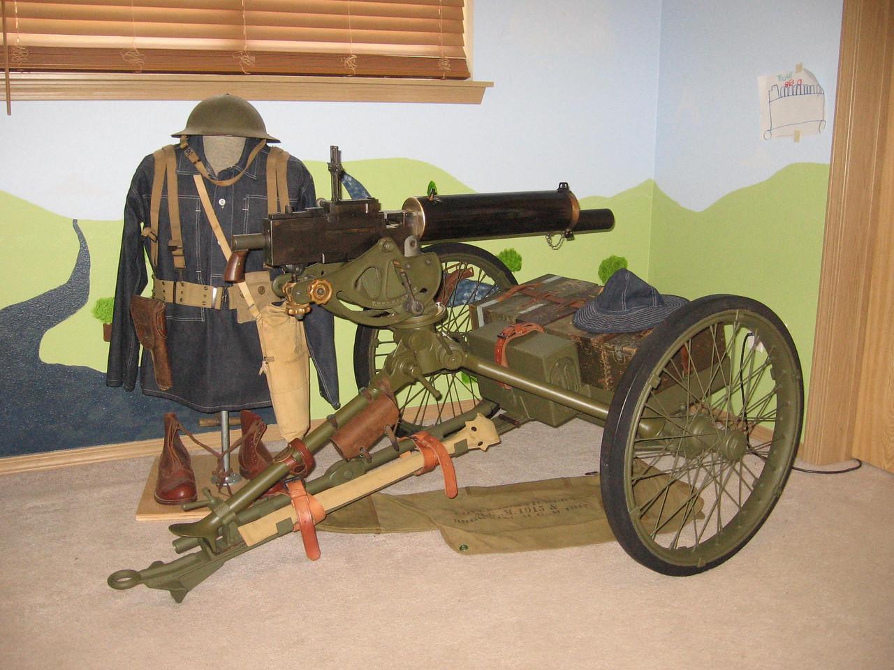 NO 1048  <br /> MOUNT, WHEELED,<br /> MACHINE GUN, M1<br /> ROCK ISLAND ARSENAL