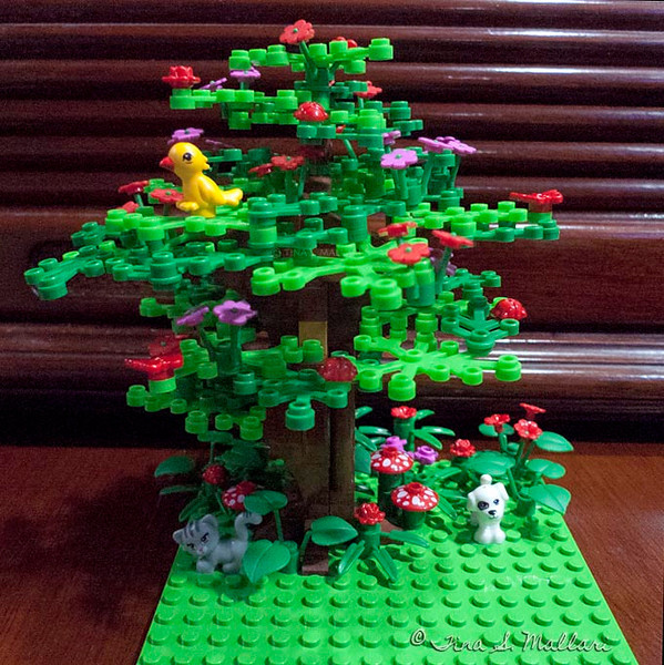 My very first MOC as an adult.  Got obsessed with trees :-)