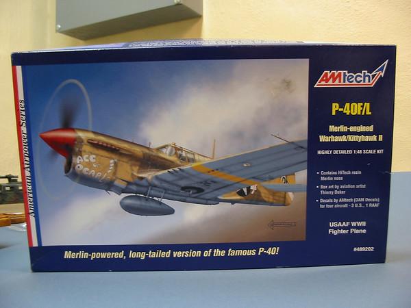 1/48 AmTech P-40F