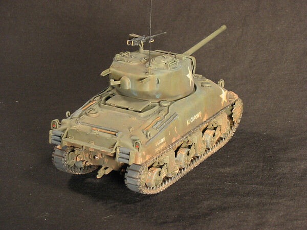 Italeri 1/35 M4A1 Sherman
