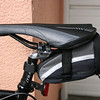 A view of the back see with saddlebag.