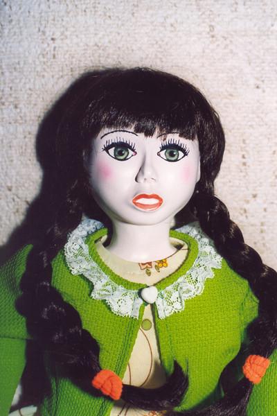"""Mijn zelfgemaakte poppen!<br /> """"Jade""""<br /> (kadoo voor Bernadette)"""