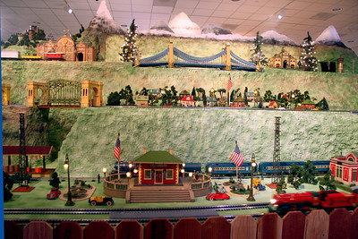 Nixon Museum Christmas Layout '09