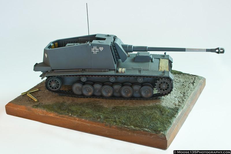 12.8cm SPG Sturer Emil - 1/35 Scale by Martin Quinn