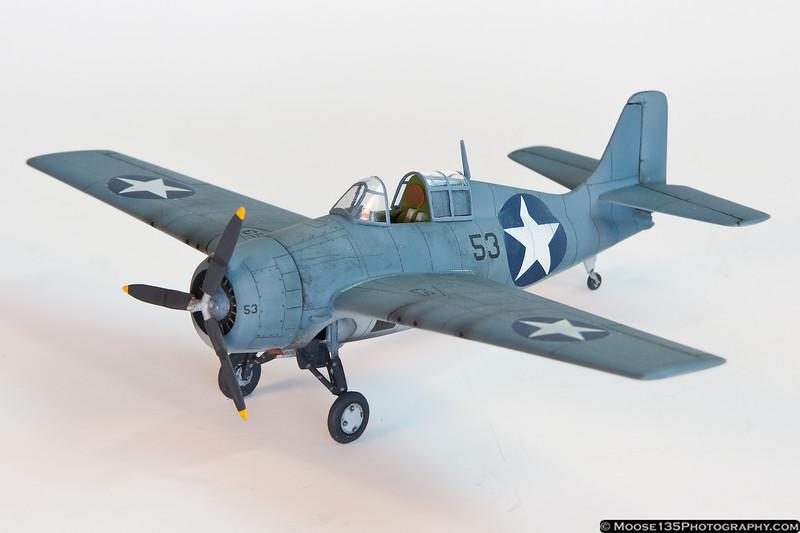 F4F Wildcat - 1/72 Scale by Allan Buttrick