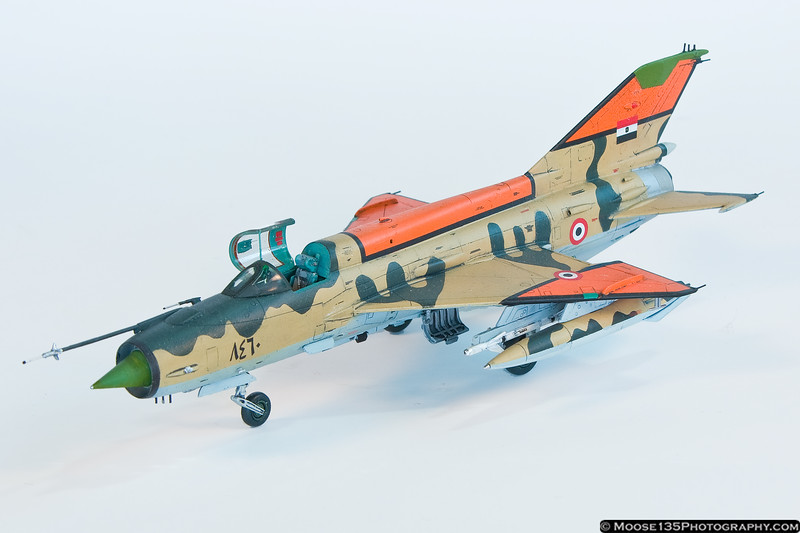 Egyptian Air Force MiG-21 MF - 1/72 Scale by Chris Warren