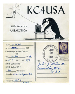 Old QSL card
