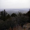 A higher elevation photo similar to the earlier ones, looking NNW back towards Big Bear Lake.
