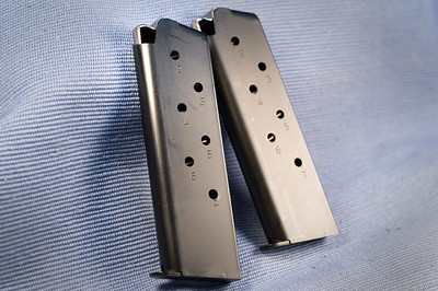 A couple of 7 round mags came with it.